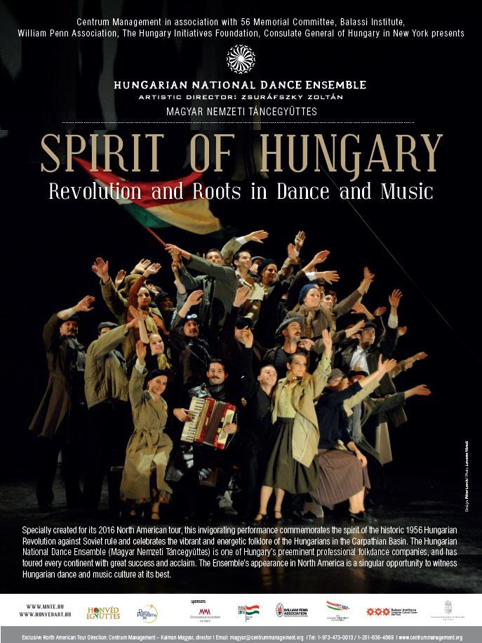 magyar nemzeti táncegyüttes amerikai turné